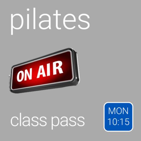 Class Pass - Monday 10:15 am