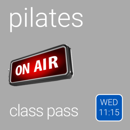 Class Pass - Wednesday 11:15 am