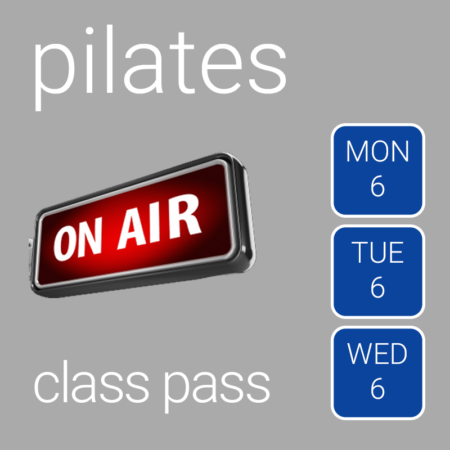 Triple Class Pass - Weekdays at 6
