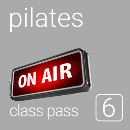Class Pass - 6 Online Classes