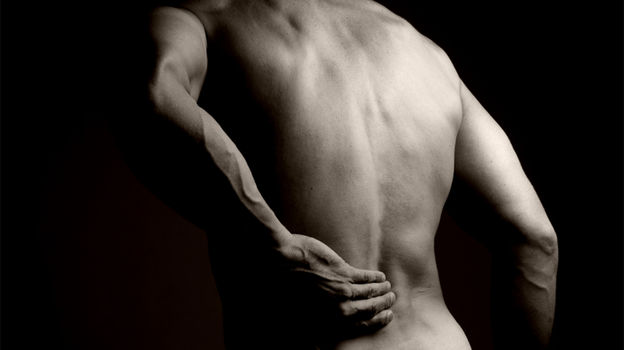 Man Suffering from Acute Back Pain