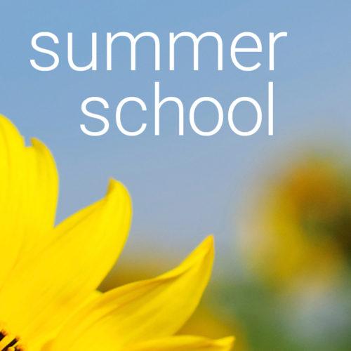 Summer School - A Pick 'n' Mix Program of Classes